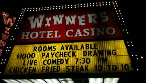 Winners casino marquee