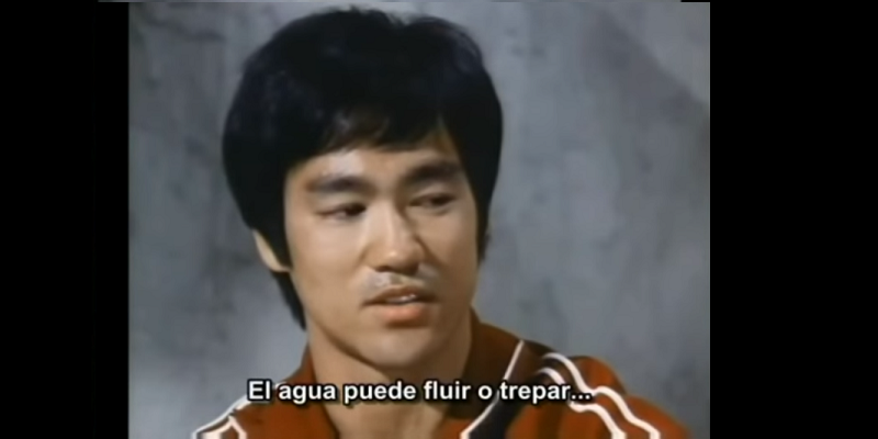 Bruce Lee and the Power of Water