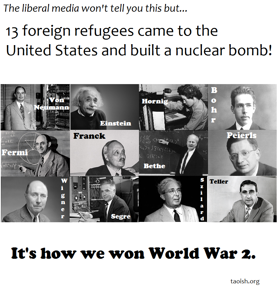 Bomb-Making Refugees